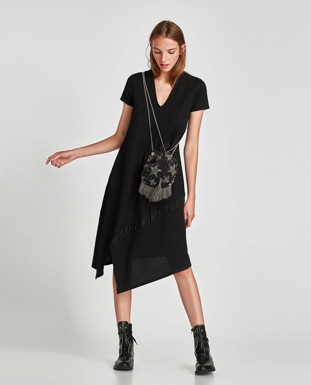 Zara Cross Body Beaded Bucket Bag Frilly Pretty Things